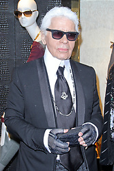 © Licensed to London News Pictures. 01/05/2014, UK. Karl Lagerfeld, Fendi - Store Launch Party, New Bond Street, London UK, 01 May 2014. Photo credit : Brett D. Cove/Piqtured/LNP