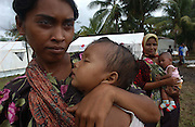 Banda Aceh, Indonesia<br />The tsunami on December 26 2004 devastated Banda Aceh and the west coast of Sumatra. German Red Cross establish a basic health care unit at the town of Teunom, some 120 km from Banda Aceh. Victims of the tsunami and other sick in the region seek medical help at the facility.
