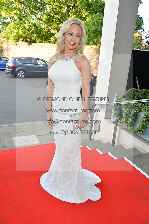 KRISTINA RIHANOFF at the Ben Cohen Stand Up Foundation Gala evening at The Hurlingham Club, Ranelagh Gardens, London on 21st May 2015.