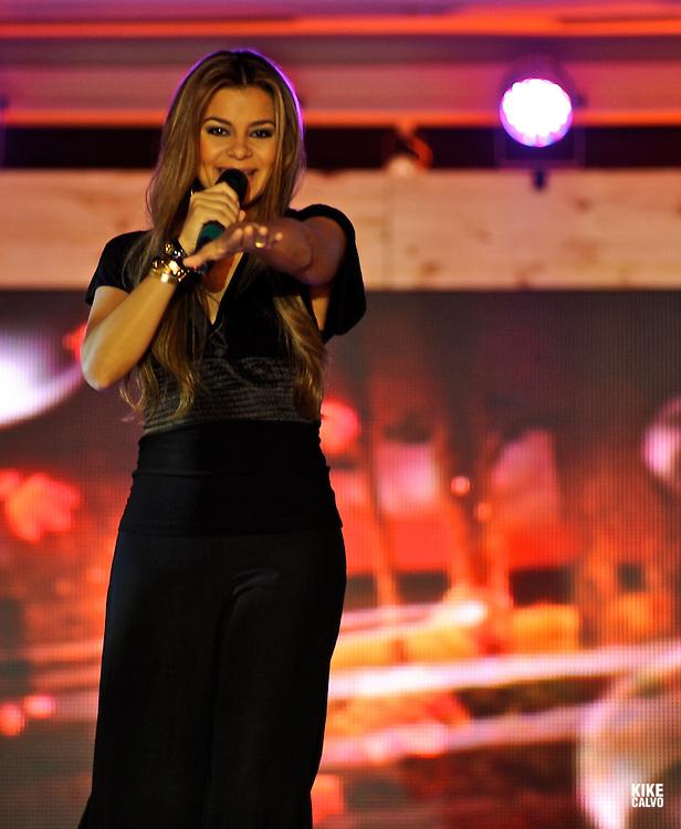 Venezuelan singer Olanda Angarita.