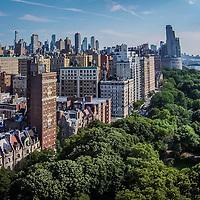 Manhattan Upper West Side with Riversiide Tower Hotel