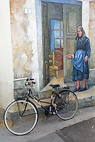 Italie. Sardaigne. Peintures murales dans le village de San Sperate. // Italy, Sardinia, Mural painting on the village of San Sperate.