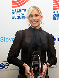 Best of 2013 in women category Snezana Rodic during the Slovenia's Athlete of the year award ceremony by Slovenian Athletics Federation AZS on November 8, 2013 in Grand Hotel Toplice, Bled, Slovenia. Photo by Vid Ponikvar / Sportida