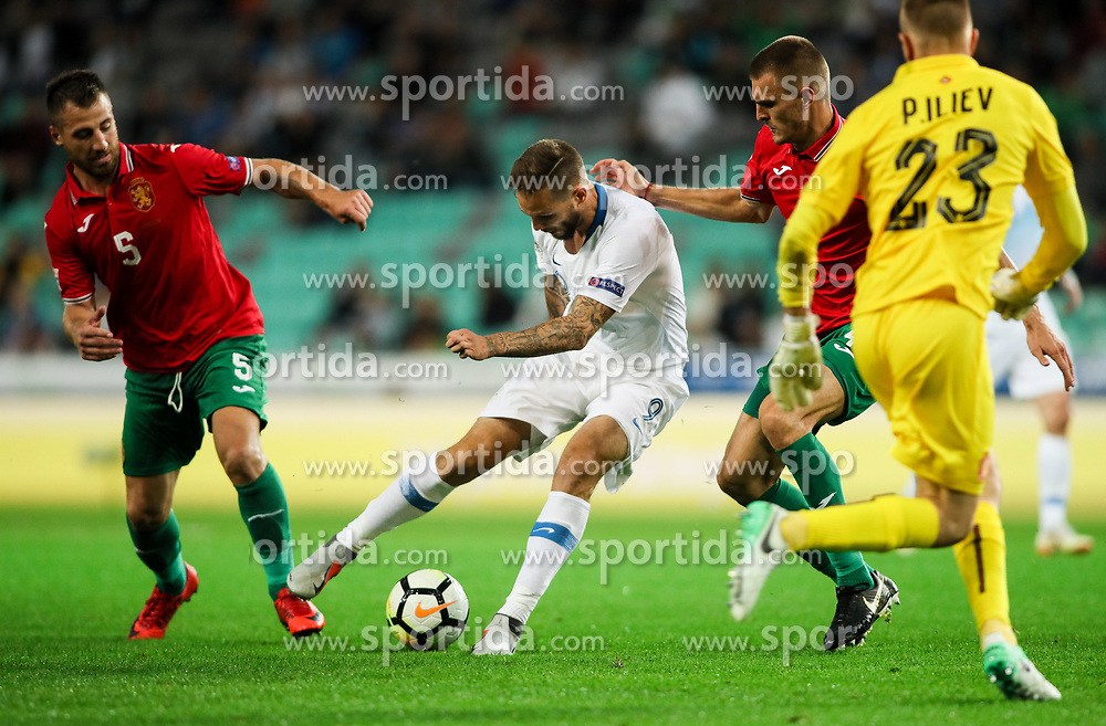 Tim Matavz of Slovenia during football match between National Teams of Slovenia and Bulgaria in Final Tournament of UEFA Nations League 2019, on September 6, 2018 in SRC Stozice, Ljubljana, Slovenia. Photo by Morgan Kristan / Sportida