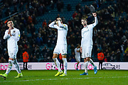 Leeds United forward Patrick Bamford (9) reacts during the EFL Sky Bet Championship match between Leeds United and Queens Park Rangers at Elland Road, Leeds, England on 2 November 2019.