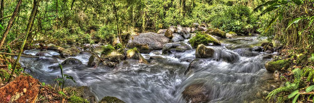 Chirripo River, Cloudbrige Reserve - San Gerardo, Costa Rica
