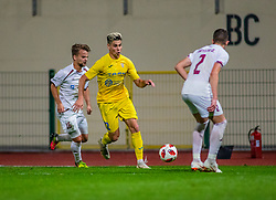 12# Sikosek Gregor of Domzale during football match between Domzale and NK Triglav Kranj in 1. Slovenian National League, on September 16, 2018 in Sports park Domzale Ljubljana, Ljubljana, Slovenia. Photo by Urban Meglic / Sportida