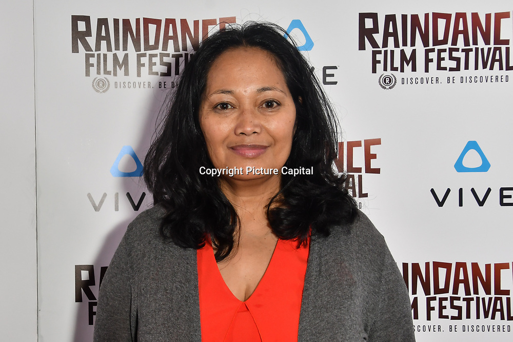 Ana de Lara - Good girls don't is a award-winning Filipina-Canadian director Nominated attends the Raindance Film Festival - VR Awards, London, UK. 6 October 2018.
