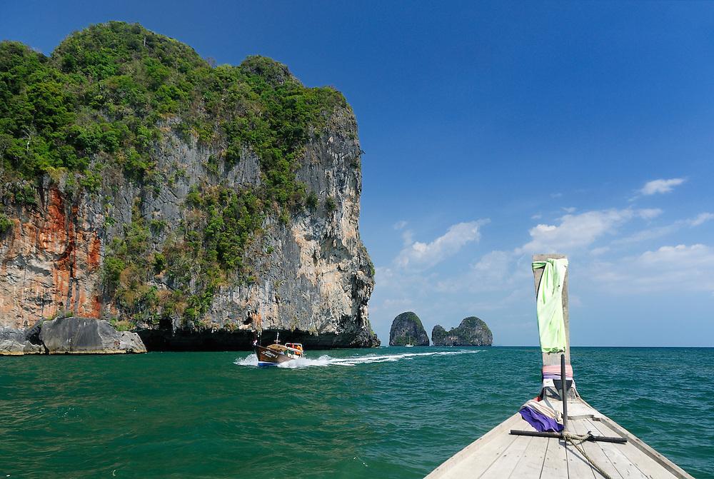 Islands near Krabi, Andaman Sea, Thailand
