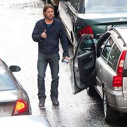 Brad Pitt films World War Z
