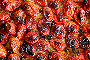 grilled Cherry tomatoes. This image has a restriction for licensing in Israel