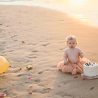 Aurora- First Birthday session