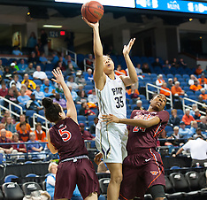 2015 ACC Women's Tourney Virginia Tech vs University of Pitt