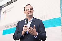 27 AUG 2017, BERLIN/GERMANY:<br /> Jens Spahn, CDU, Parl. Staatssekretaer im Bundesfinanzministerium, Tag der offenen Tuer, Bundesministerium der Finanzen, BMF<br /> IMAGE: 20170827-01-145<br /> KEYWORDS: Tag der offenen T&uuml;r