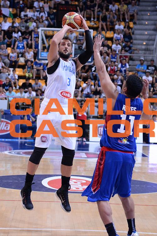 Bologna 26 Giugno 2016<br /> BASKET Basketball tournament city<br /> Italia Filippine<br /> NELLA FOTO Marco Belinelli<br /> FOTO CIAMILLO