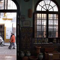 Ceramics shop, 'Ceramica Montalvan: Desde 1850 en Triana' Alfareria 23, Sevilla, +954-33-32-54, www.ceramicamontalvan.com. Seville, Andalusia, Spain.