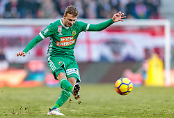 04.03.2018, Red Bull Arena, Salzburg, AUT, 1. FBL, FC Red Bull Salzburg vs SK Rapid Wien, 25. Runde, im Bild Philipp Schobesberger (Rapid Wien) // during Austrian Football Bundesliga 25th round Match between FC Red Bull Salzburg and SK Rapid Wien at the Red Bull Arena, Salzburg, Austria on 2018/03/04. EXPA Pictures © 2018, PhotoCredit: EXPA/ JFK