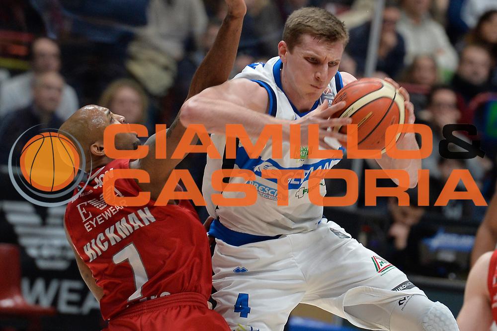 Berggren jared<br /> Olimpia EA7 Emporio Armani Milano vs Basket Leonessa Brescia<br /> Lega A 2016/2017<br /> Milano 12/02/2017<br /> Foto Ciamillo-Castoria