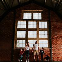 You're Having a Giraffe ~ Hannah, Neil, Idris & Eiry's Giraffe Shed, Tregynon, Wales Family Shoot
