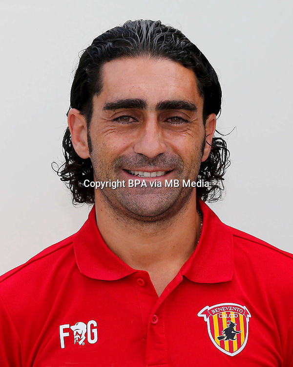 Italian League Serie B -2016-2017 / <br /> ( Benevento Calcio ) - <br /> Piergraziano Gori