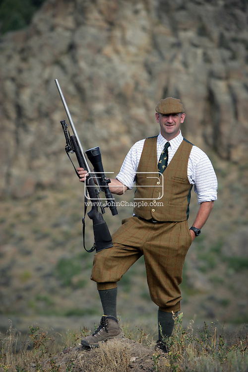16th August 2007. Newdale, Idaho. Madonna and Guy Ritchie's former Gamekeeper Martin Taylor, who now works at The Lazy Triple Creek Ranch in Idaho. Film-maker Ritchie is to make a big screen version of comic series The Gamekeeper, the main character is based on Martin. PHOTO © JOHN CHAPPLE / REBEL IMAGES.tel 310 570 9100.john@chapple.biz.www.chapple.biz.