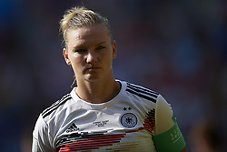 June 29, 2019 - Rennes, France - Alexandra Popp (Vfl Wolfsburg) of Germany during the 2019 FIFA Women's World Cup France Quarter Final match between Germany and Sweden at Roazhon Park on June 29, 2019 in Rennes, France. (Credit Image: © Jose Breton/NurPhoto via ZUMA Press)