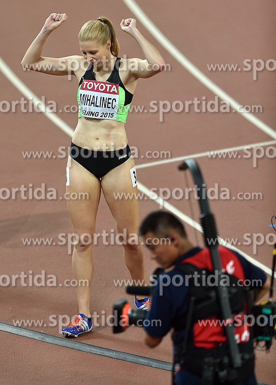 27-08-2015 CHN: IAAF World Championships Athletics day 6, Beijing<br /> Maja Mihalinec SLO run a personal best on the 200 m in 23.04