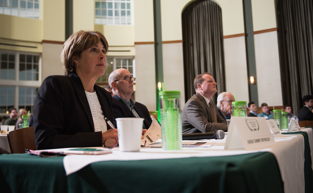 Judges at the 3rd Annual Robert L. Foehl Ethical Leadership Case Competiton.