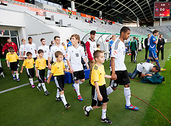 Maximilian Meyer of Germany and Jeremy Dudziak of Germany during the UEFA European Under-17 Championship Group A match between Iceland and Germany on May 7, 2012 in SRC Stozice, Ljubljana, Slovenia. Germany defeated Iceland 1-0. (Photo by Vid Ponikvar / Sportida.com)