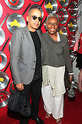 "September 18, 2012- Harlem, New York: (L-R) Designer Stephen Burroughs and Vogue Italia Editor-at-Large/Agent Bethann Hardison at Sylvia's Restaurant 50th Anniversary Golden Jubliee Gala celebrating the life and legacy of the late Sylvia Woods and held at Sylvia's Restaurant on September 18, 2012 in the Village of Harlem, USA. The 50th Anniversary Gala salutes Sylvia's as ""the world's kitchen"" and celebrates a legend of the historic Harlem community. With an invite-only fundraising event for 500+ guests, the night kicked-off with a lavish cocktail hour and live performances from Sylvia's A-list guests, many of whom have made Sylvia's a home away from home for the past 5 decades. (Terrence Jennings)"