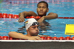 21.08.2014, Europa Sportpark, Berlin, GER, LEN, Schwimm EM 2014, Freistil, im Bild Florian Vogel (Deutschland) (DSV) // during the LEN 2014 European Swimming Championships at the Europa Sportpark in Berlin, Germany on 2014/08/21. EXPA Pictures © 2014, PhotoCredit: EXPA/ Eibner-Pressefoto/ Lau<br /> <br /> *****ATTENTION - OUT of GER*****