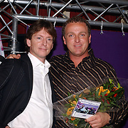 CD uitreiking Gordon & Replay, met Erik de Zwart