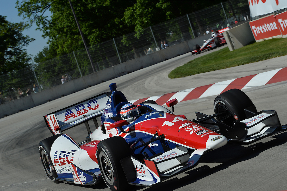 Takuma Sato, The Raceway at Belle Isle Park, Detroit, MI USA 6/1/2014