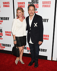 May 1, 2019 - JAMIE DENBO and JOHN ROSS BOWIE attends The Big Bang Theory's Series Finale Party at the The Langham Huntington. (Credit Image: © Billy Bennight/ZUMA Wire)