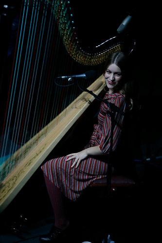 Joanna Newsome performing at Webster Hall on November 14, 2006