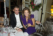 REBECCA VON MEISTER AND JOHN GENOVESE, Crillon Debutante Ball 2007,  Crillon Hotel Paris. 24 November 2007. -DO NOT ARCHIVE-© Copyright Photograph by Dafydd Jones. 248 Clapham Rd. London SW9 0PZ. Tel 0207 820 0771. www.dafjones.com.