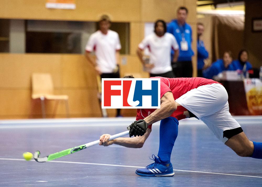 BERLIN - Indoor Hockey World Cup<br /> Czech Republic - Trinidad &amp; Tobago<br /> foto: PROCH&Aacute;ZKA Tomas.<br /> WORLDSPORTPICS COPYRIGHT FRANK UIJLENBROEK