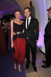 JACQUETTA WHEELER and ALBAN DE PURY at The Surrealist Ball in aid of the NSPCC in association with Harpers Bazaar magazine held at the Banqueting House, Whitehall, London on 17th March 2011.