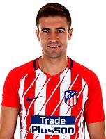 Spain - La Liga Santander 2017-2018 / <br /> ( Atletico de Madrid ) - <br /> Gabriel Fernandez Arenas - Gabi