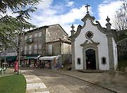 Small chapel and historic buildings Valença do Minho, Portugal