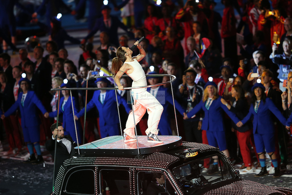The Spice Girls perform during Closing Ceremonies during day 16 of the London Olympic Games in London, England, United Kingdom on August 12, 2012..(Jed Jacobsohn/for The New York Times)..
