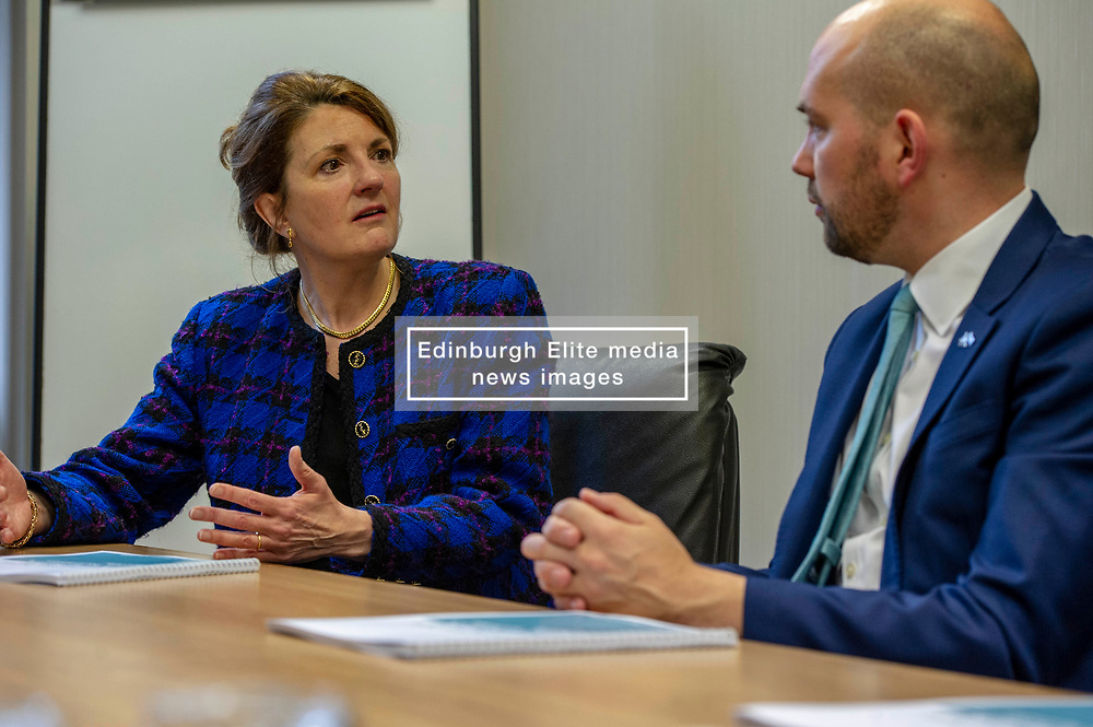 Angela Mathis engages with Ben Macpherson<br />