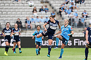 SYDNEY, AUSTRALIA - NOVEMBER 17: Melbourne Victory midfielder Amy Jackson during the round 1 W-League soccer match between Sydney FC Women and Melbourne Victory Women on November 17, 2019 at Netstrata Jubilee Stadium in Sydney, Australia. (Photo by Speed Media/Icon Sportswire)