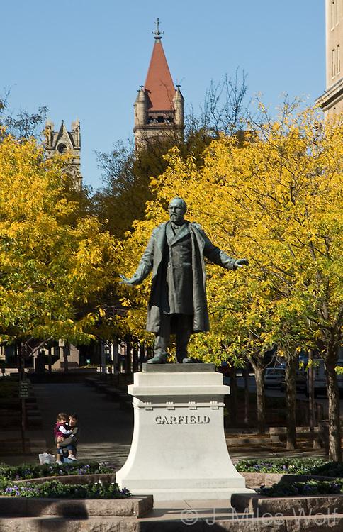 Piatt Park Garfield Monument Downtown Cincinnati Ohio