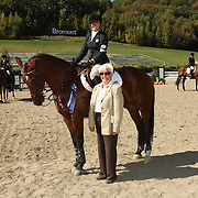 Katlyn McMorris (USA) and Clifton Peekachu at the 2007 Bromont Fall Horse Trials held September 20 - 23 at the 1976 Olympic site in Bromont, Quebec, Canada.