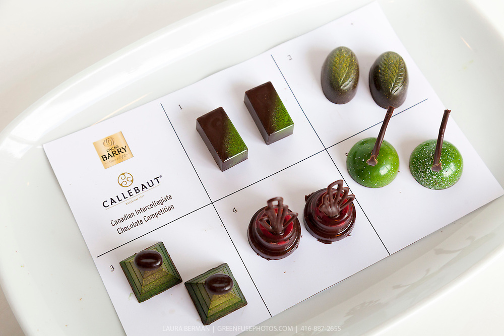 Moulded Bons bons at the Canadian Intercollegiate Chocolate Competition  April 13- 14, 2013