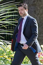Downing Street, London, May 3rd 2016. Work and Pensions Secretary Stephen Crabb arrives at 10 Downing Street for the weekly cabinet meeting. ©Paul Davey<br /> FOR LICENCING CONTACT: Paul Davey +44 (0) 7966 016 296 paul@pauldaveycreative.co.uk