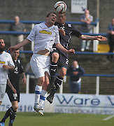 David Robertson and Jim McAlister - Greenock Morton v Dundee, SPFL Championship at Cappielow<br /> <br />  - &copy; David Young - www.davidyoungphoto.co.uk - email: davidyoungphoto@gmail.com