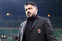 Gennaro Gattuso allenatore del Milan  - Tim Cup - Ottavi di Finale - Milan-Verona