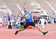 Chao-Tsun Cheng (TAI) wins the javelin at 284-6<br /> (86.72m)during the Asian Athletics Championships in Doha, Qatar, Sunday, April,22, 2019. (Jiro Mochizuki/Image of Sport)